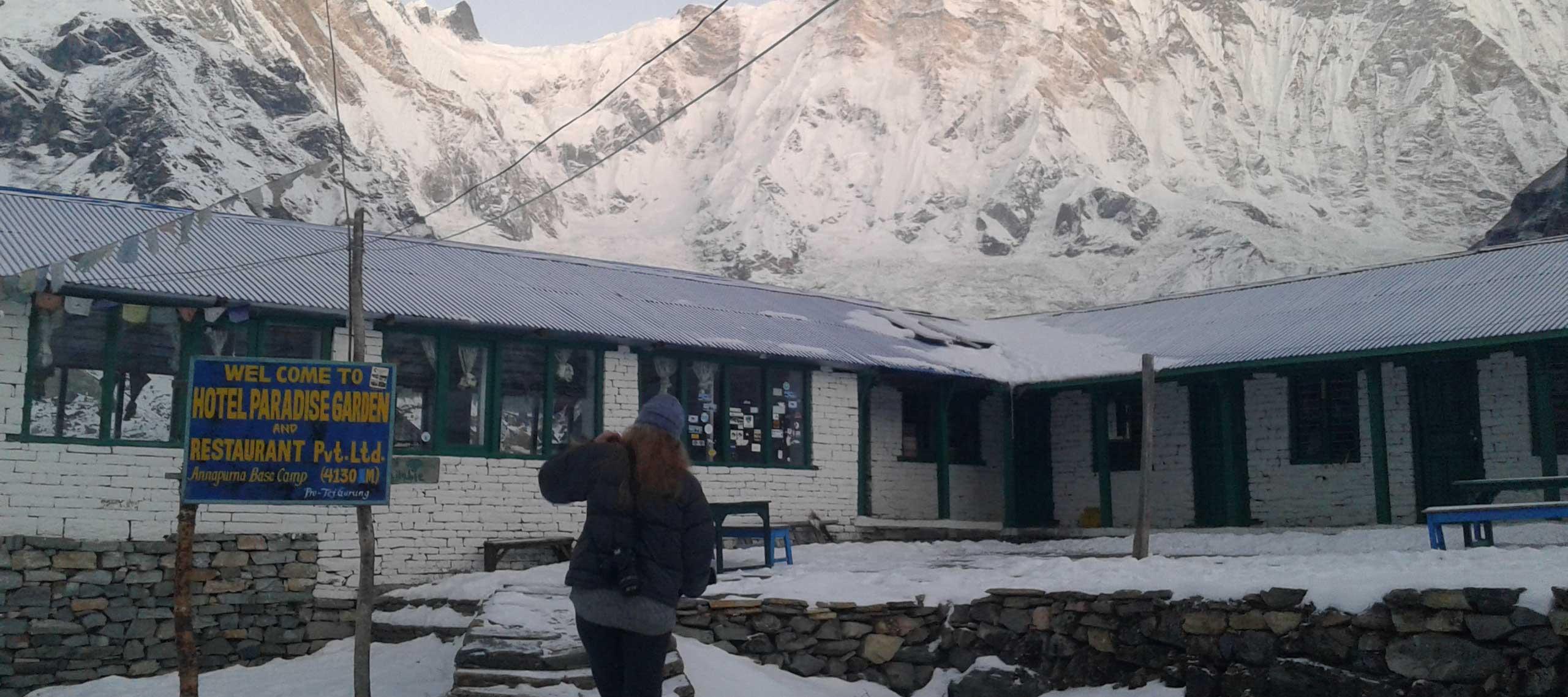 Hotels in Annapurna Base Camp