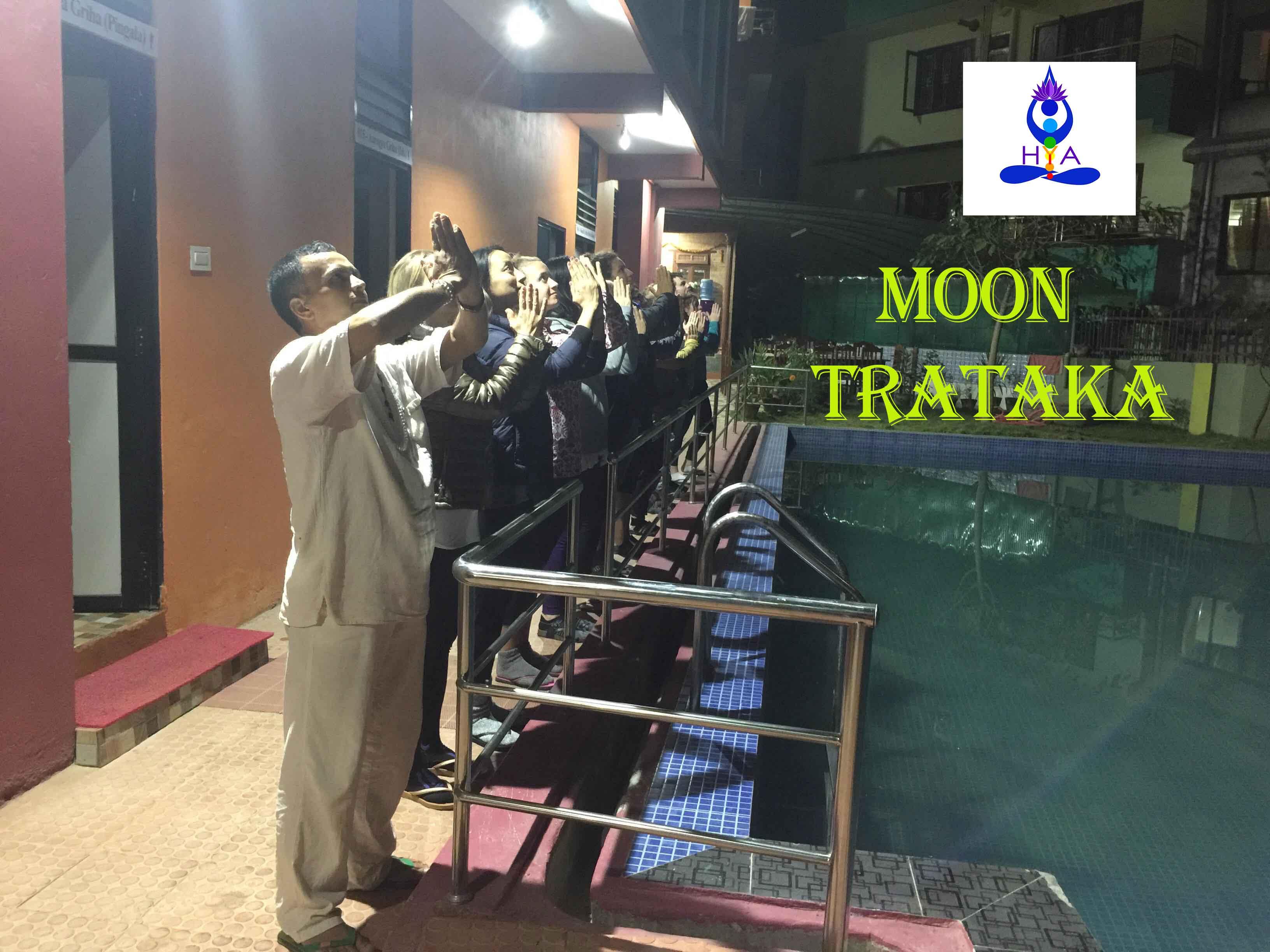 Moon-Trataka
