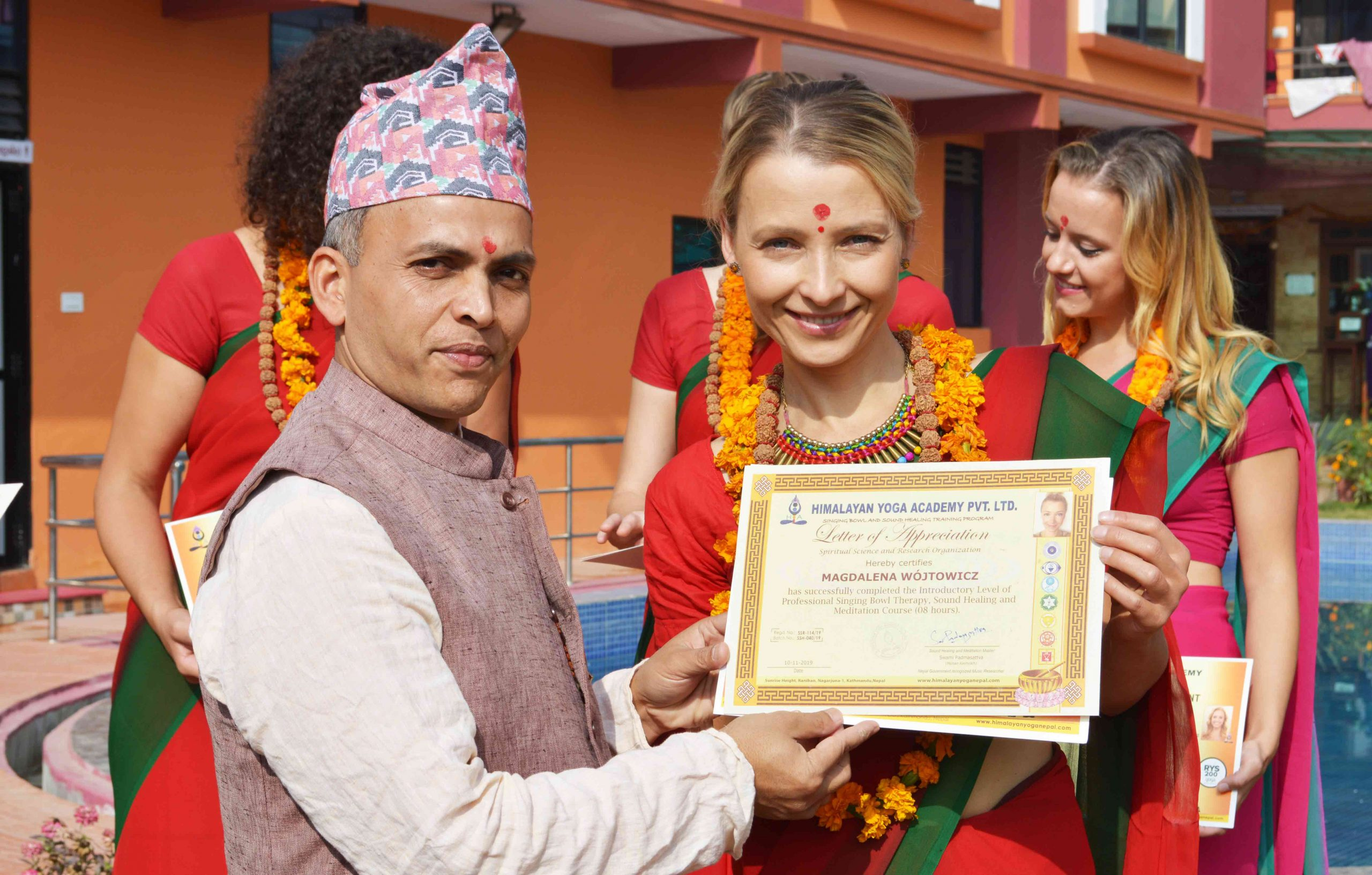 Yoga Alliance School in Nepal