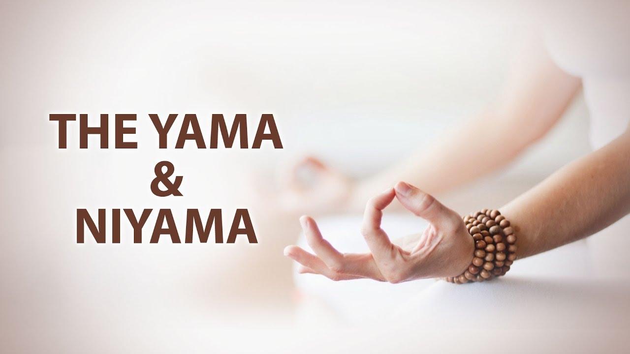 The Yama and Niyama