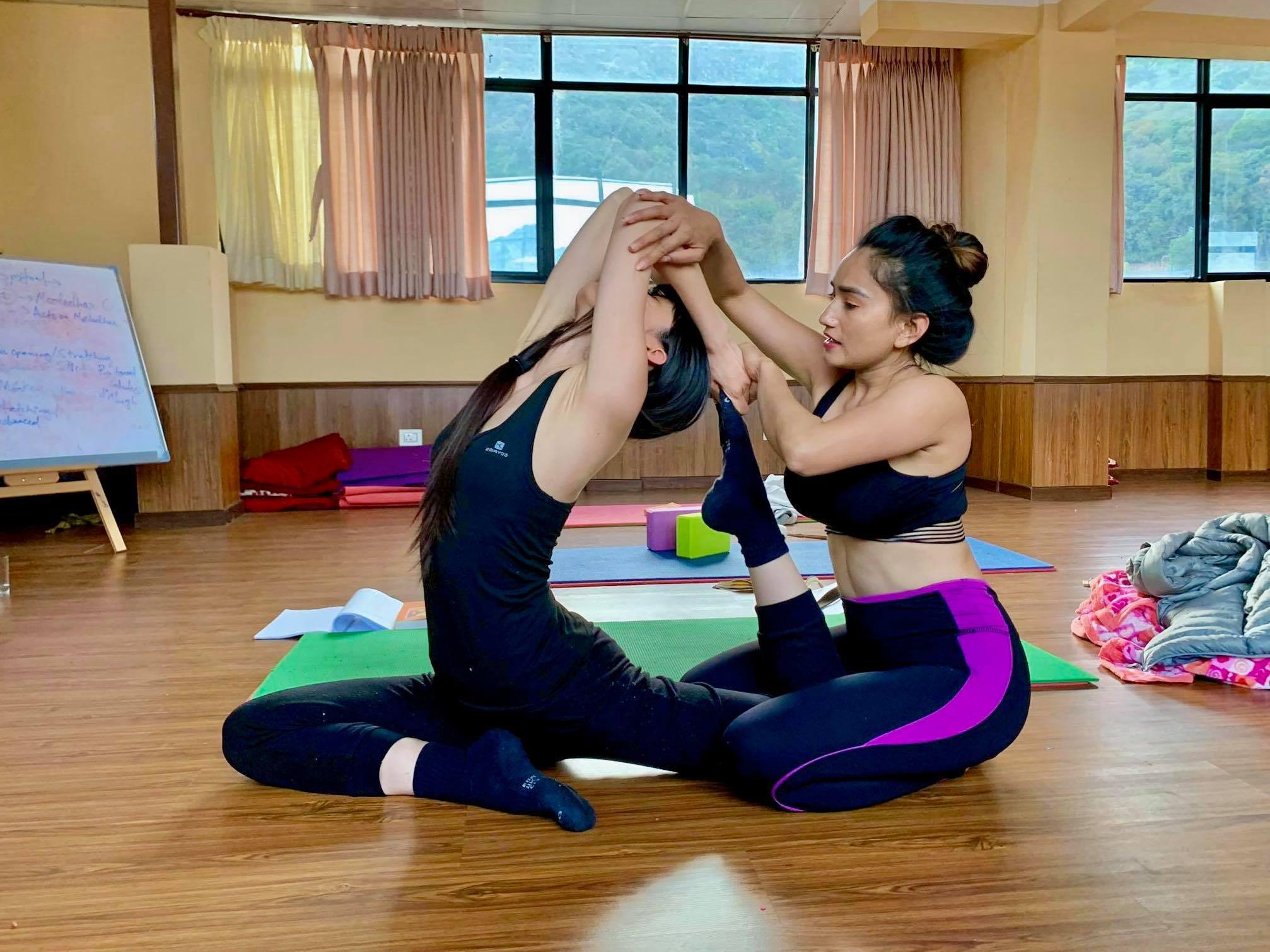 COVID-19 Quarantine And Yoga