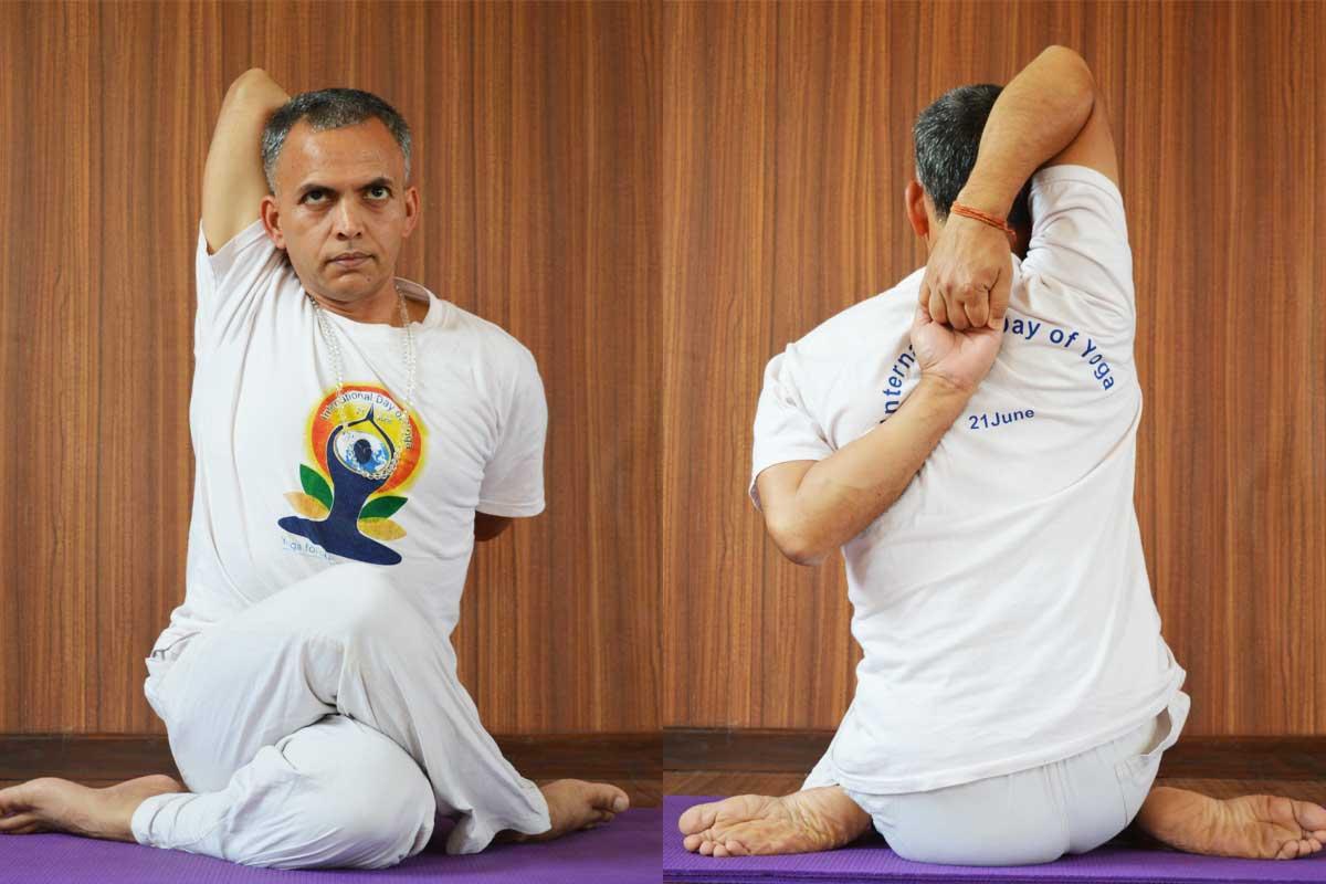 Gomukhasana Benefits And Precautions