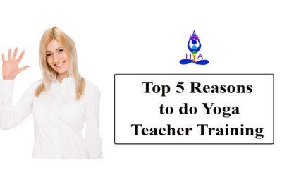 Top 5 Reasons to do Yoga Teacher Training