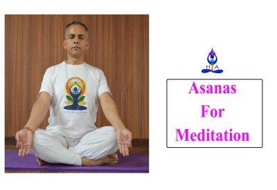 Asanas for Meditation