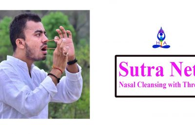 Sutra Neti (Nasal cleansing with Thread)