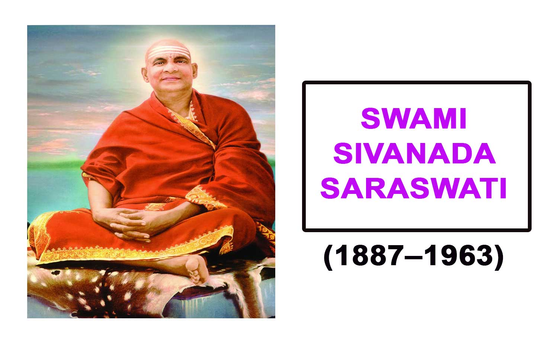Swami Sivanada Saraswati