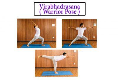 Warrior Pose Virabhadrasana