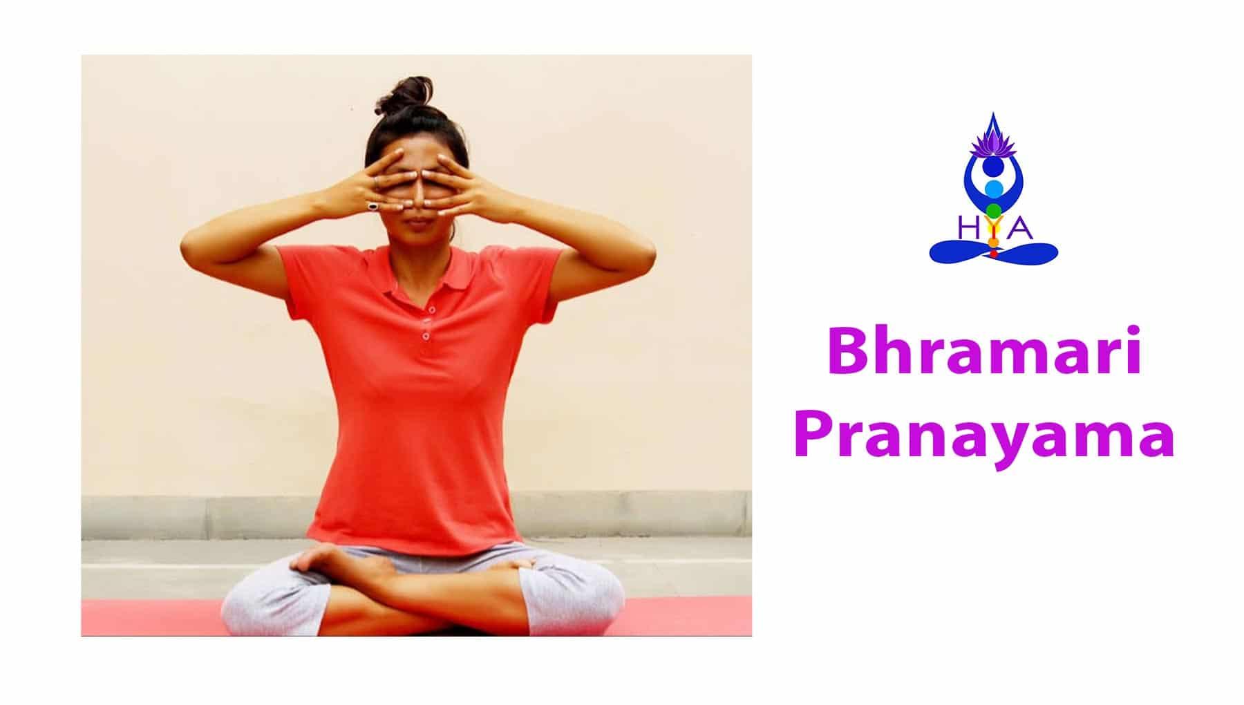 Bhramari Pranayama ( Humming Bee Breathing )